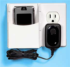 Illustration for article titled Simultaneously charge and store your gadget with Socket Pocket