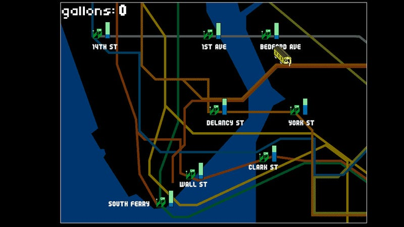 Nyc Subway Map Sandy.Pump Train Puts You In Charge Of Saving New York City S Subways