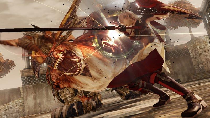 Illustration for article titled Smash Bros. Creator Loves Lightning Returns' Battle System