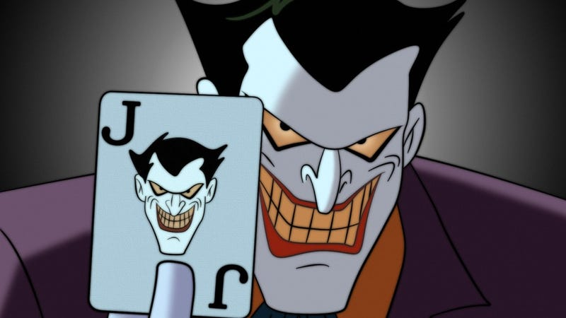 Image result for the joker CARTOON smile