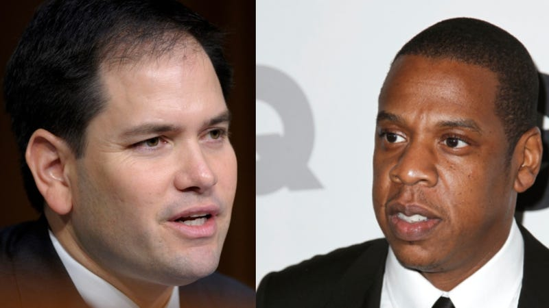Illustration for article titled Marco Rubio Betrays His BFF Jay-Z