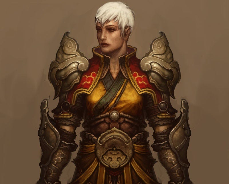 Illustration for article titled Diablo III's Female Monk Has The Cutest Haircut
