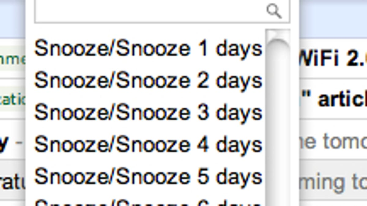 How to Add a Snooze Button to Gmail, No Extensions Required