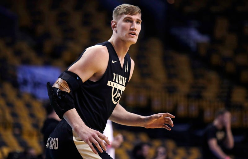 Illustration for article titled It Sure Sounds Like Isaac Haas Is Done At Purdue—No, For Real This Time