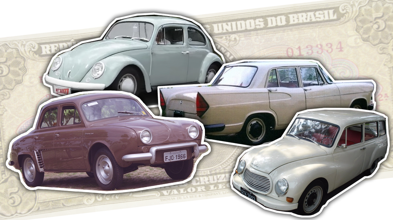 Illustration for article titled Brazil's Depression Created Some Of The Most Stripped-Out Cars Ever Sold