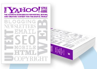 Illustration for article titled Yahoo Style Guide Is a Digital Style Manual, Like AP for the Web