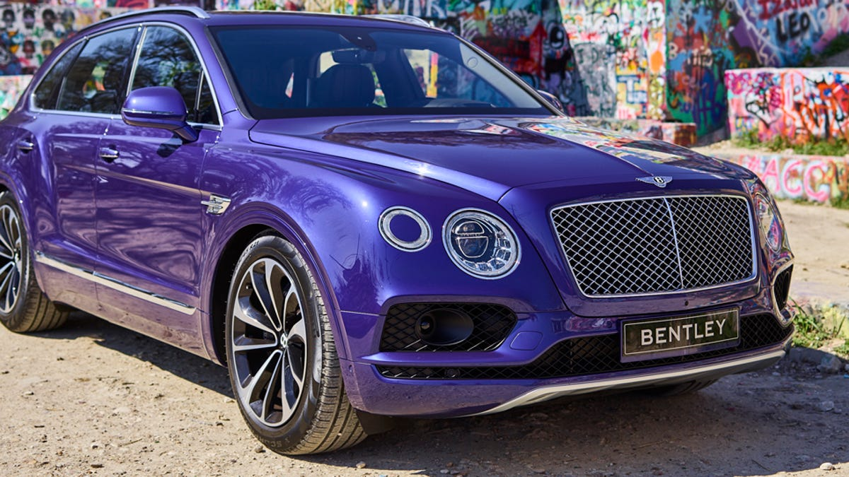 The 2017 Bentley Bentayga Is Way Too Ridiculous And Way Too Fast Not ...