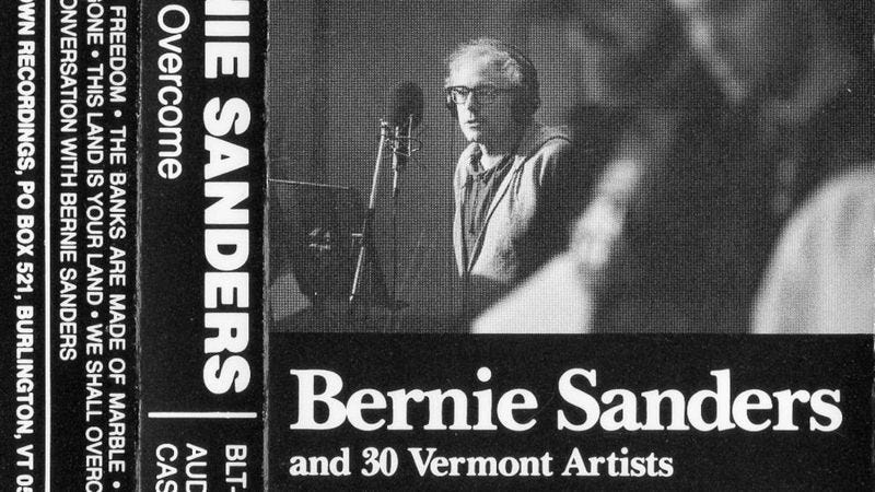 Illustration for article titled Read This: How and why Bernie Sanders recorded a 1980s folk album