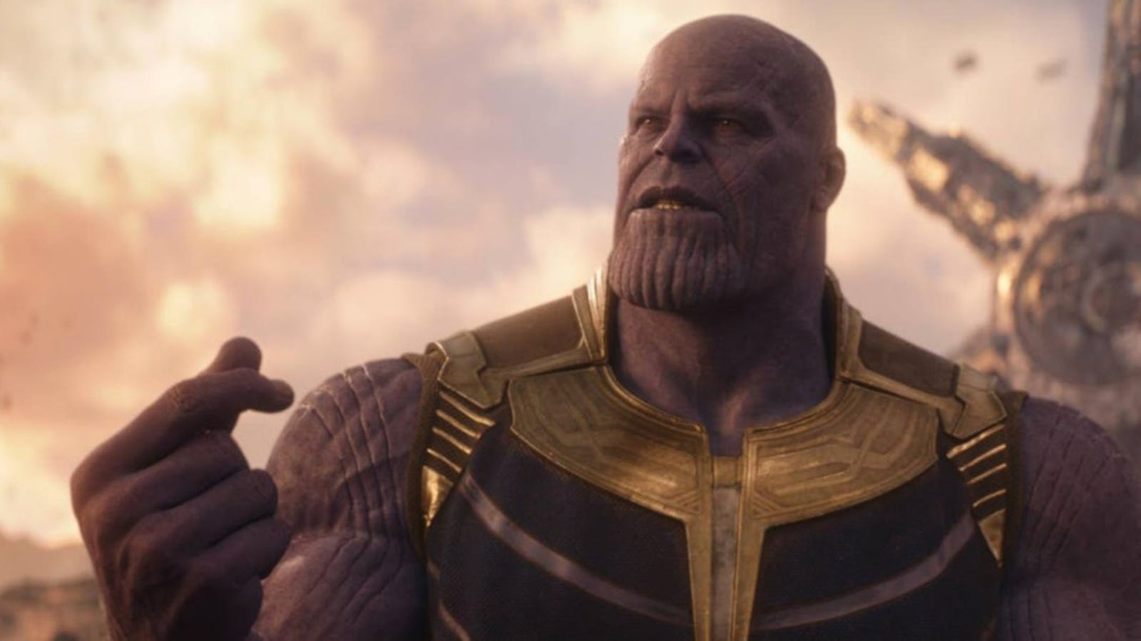 #Thanos in #InfinityWar which is a #marvel movie with the #avengers in the #mcu which is a prelude to #AvengersEndgame and filled with enough #hashtags to make the sanest man #mad.