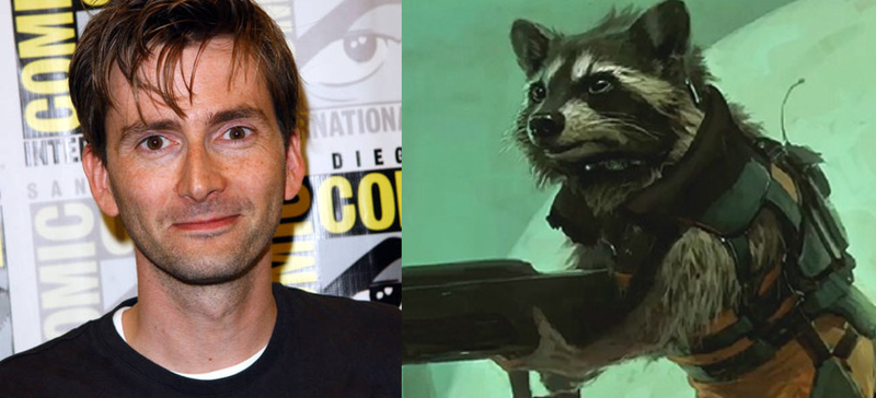 Illustration for article titled David Tennant To Voice Rocket Raccoon In Guardians Of The Galaxy?