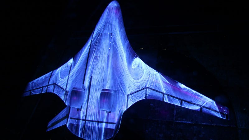 Illustration for article titled NASA's Psychedelic Space Plane Is Glowing with Pure Science