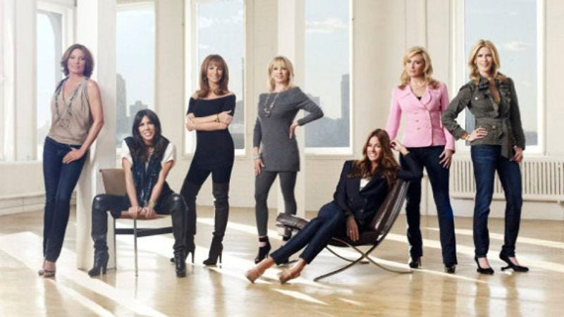 Illustration for article titled The Real Housewives Of New York City