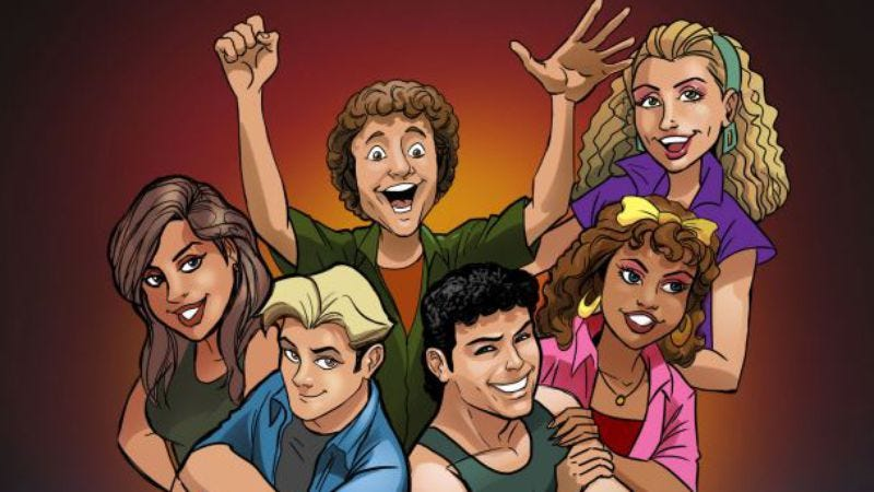 Illustration for article titled Airwolf, Punky Brewster, and Saved By The Bell are getting comic book adaptations