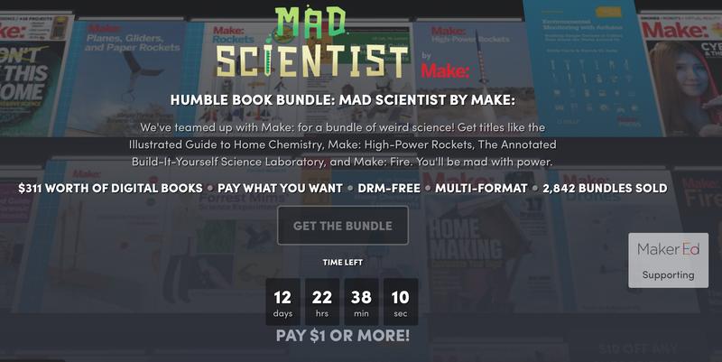 Humble Mad Scientist Ebook Bundle
