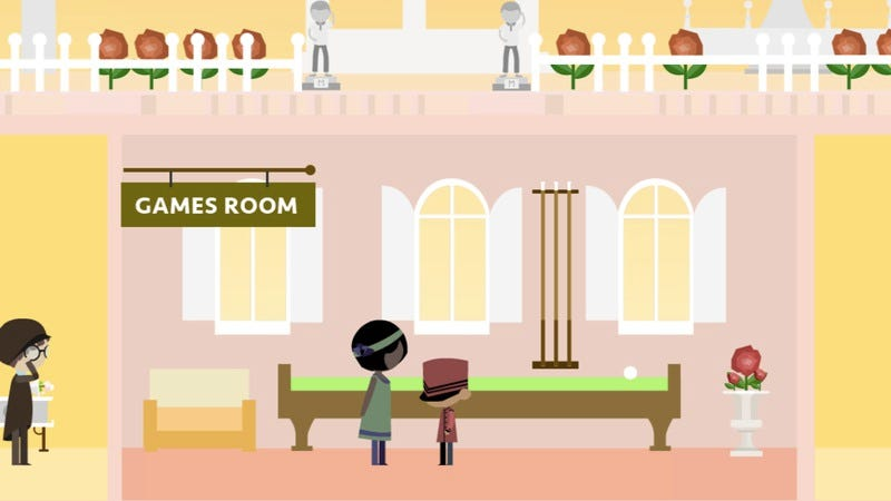 Illustration for article titled Live in a videogame version of The Grand Budapest Hotel
