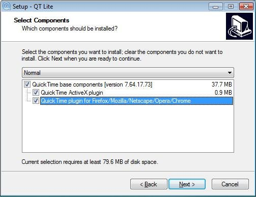 QT Lite Frees You from QuickTime's Bloat