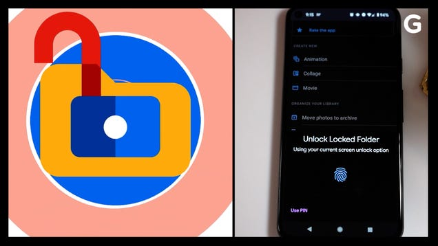 How to Lock Images in Google Photos