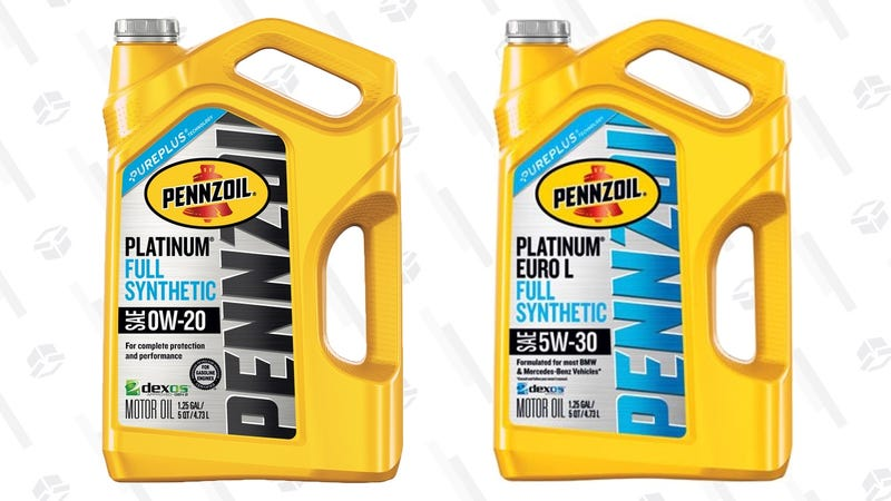 $10 Rebate With 5 Quart Penzoil Synthetic Motor Oil Purchase | Walmart | Rebate form here
