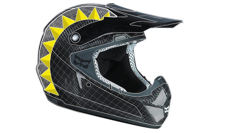 Illustration for article titled Lightest Full-Face Helmet Ever Brings Motorcycle Safety To Bicycles