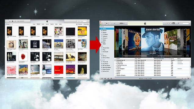 how to go back to previous version of itunes