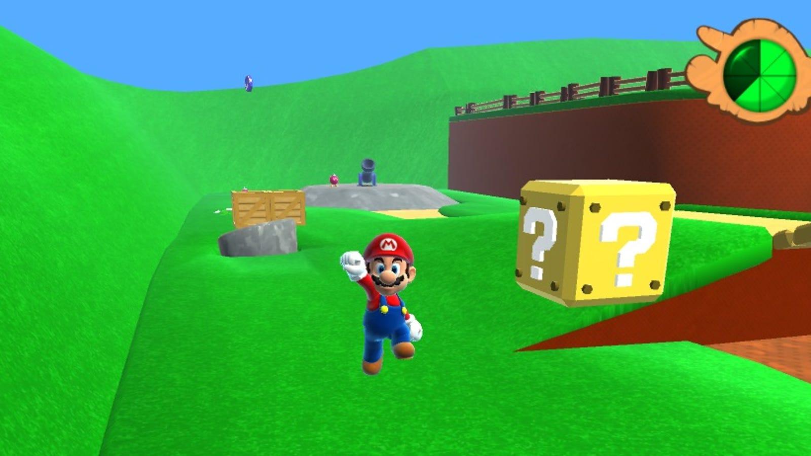 Ya puedes jugar en tu ordenador al Super Mario 64 en HD (actualizado)