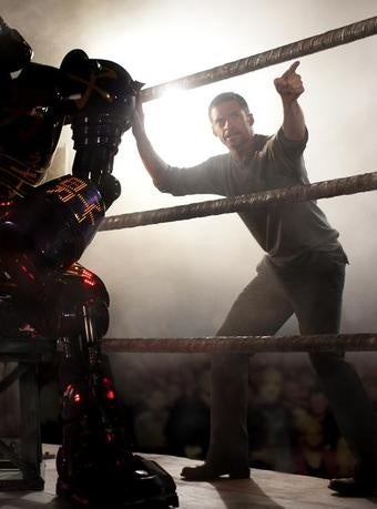 Illustration for article titled A first look at Hugh Jackman's Real Steel