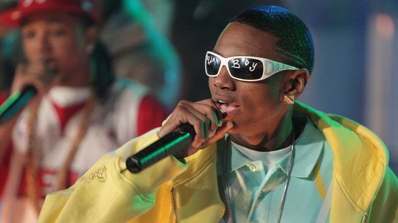 Soulja Boy on TRL in 2007 (Photo: Getty Images)