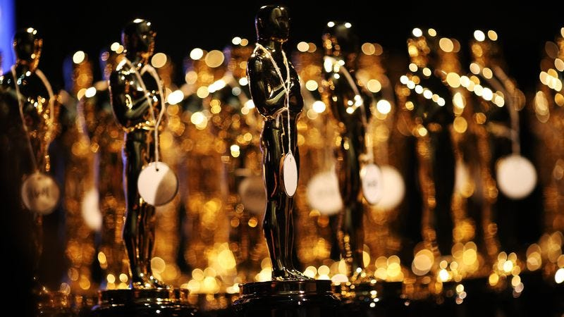 These statuettes could end up being the only thing Oscar nominees walk away with (Photo: Getty Images)