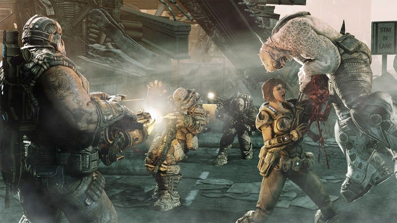 Illustration for article titled Gears of War 3 Has 'Special Unlocks' For Serious Epic Fans