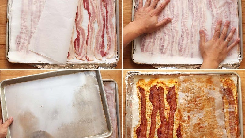 The Best Way to Make Flat, Crispy Bacon for Sandwiches and Burgers