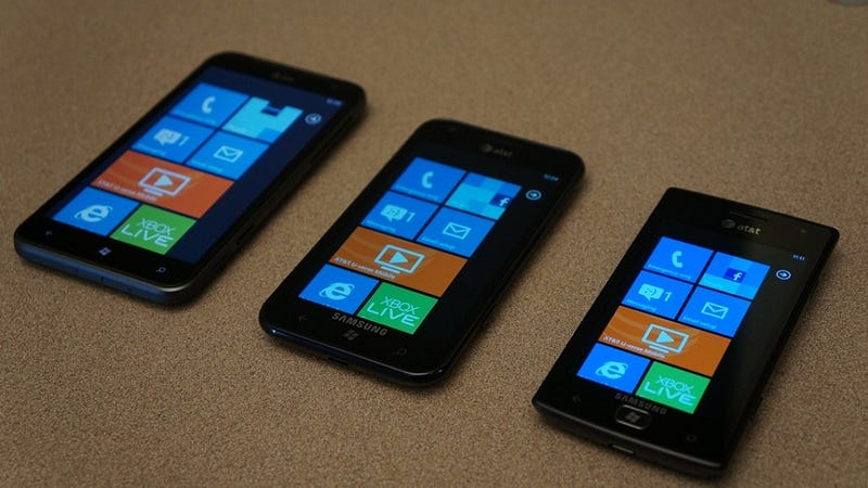 Illustration for article titled These Are AT&T's New Windows Phones (Updated)