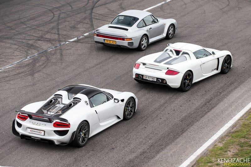 Illustration for article titled I'll take the Porsche