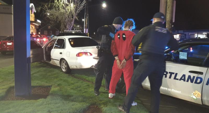 All images courtesy of the Portland Police Bureau