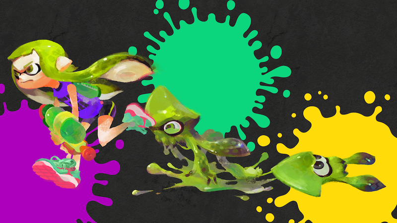 Illustration for article titled Splatoon's Squids Started Out As Blocks Of Tofu