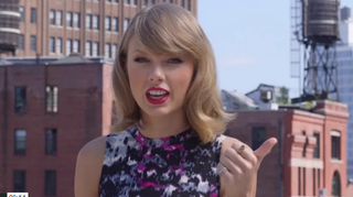 Illustration for article titled Taylor Swift Replaces a Rabid Rat as NYC's New Welcome Ambassador