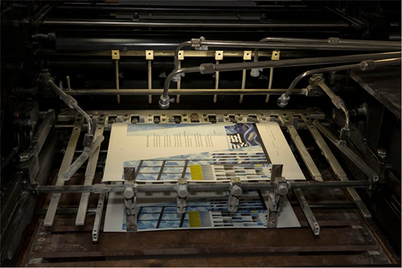 Illustration for article titled Gorgeous New Posters From an Abandoned Printing Press in London