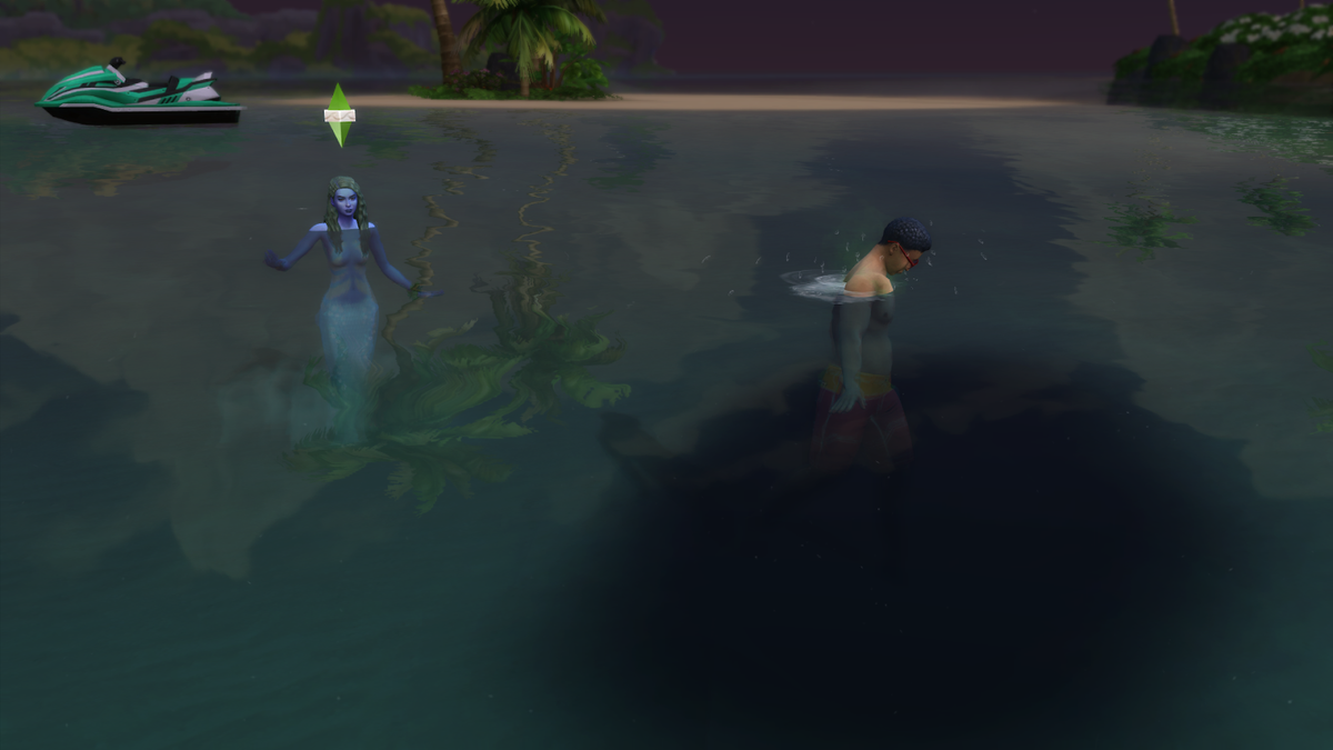 Mermaids In The Sims 4 Are Jerks