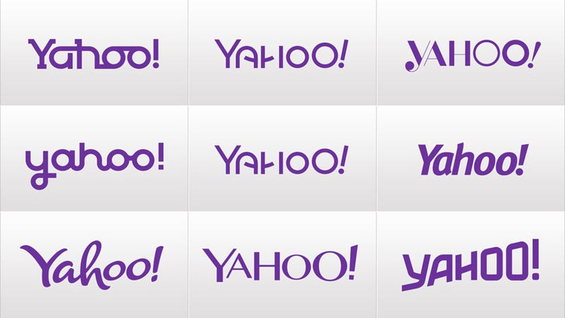 Illustration for article titled Are Any of These 29 Decoy Yahoo! Logos Better Than the Original?