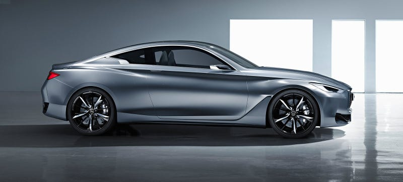 Illustration for article titled The Sexy Infiniti Q60 Will Pack A 400 HP Twin-Turbo V6: Report