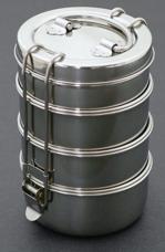 tiffin carrier lunchbox. Black Bedroom Furniture Sets. Home Design Ideas