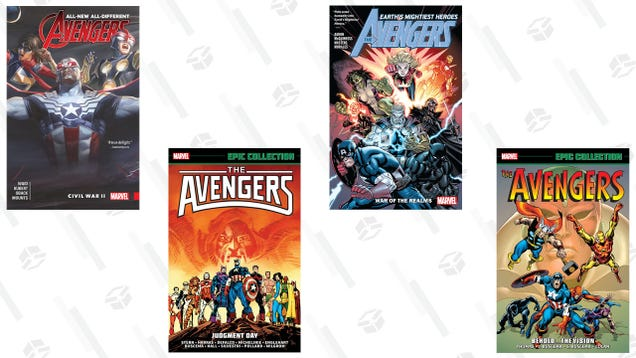 Grab some Avengers Comics on Sale at ComiXology and Brush Up on Marvel Lore