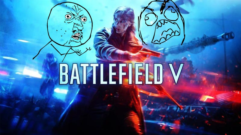 Illustration for article titled Battlefield V Reveal: An Equal and Opposite Overreaction
