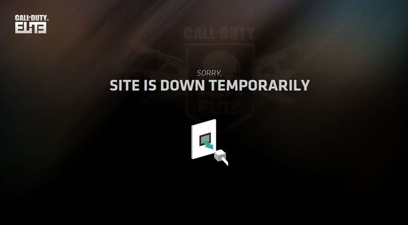 Illustration for article titled Call of Duty Elite Is Down, Struggles To Stay Online