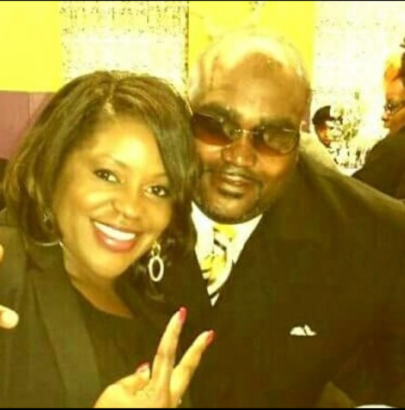 Terence Crutcher with twin sister Tiffany Crutcher (Terence Crutcher via Facebook)