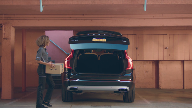 Amazon Wants to Shove Packages in Your Car s Trunk Now, Too