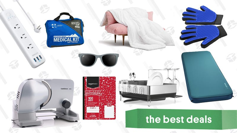 Illustration for article titled Thursday's Best Deals: Free Ground Beef, Simplehuman Dish Rack, PUMA, and More