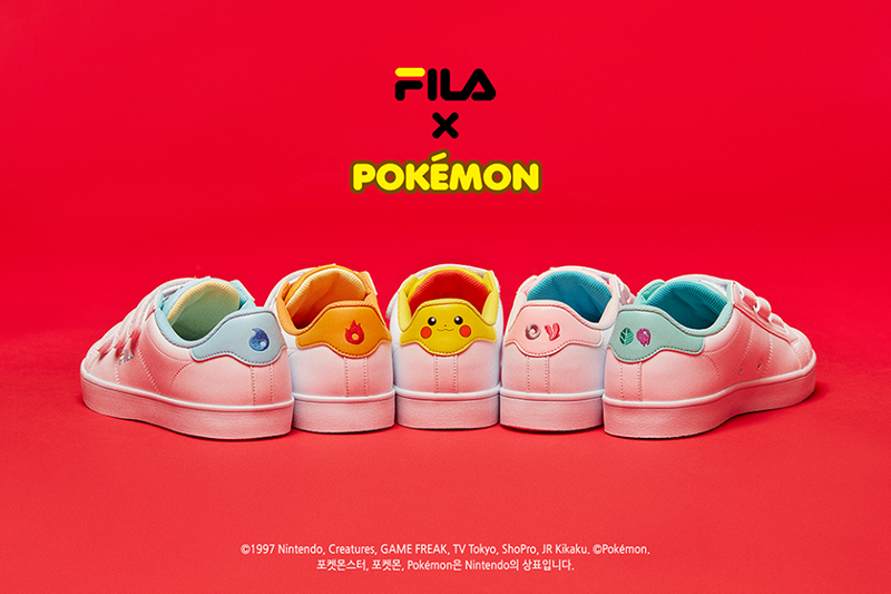 Fila's Pokémon Sneakers Look Tasteful
