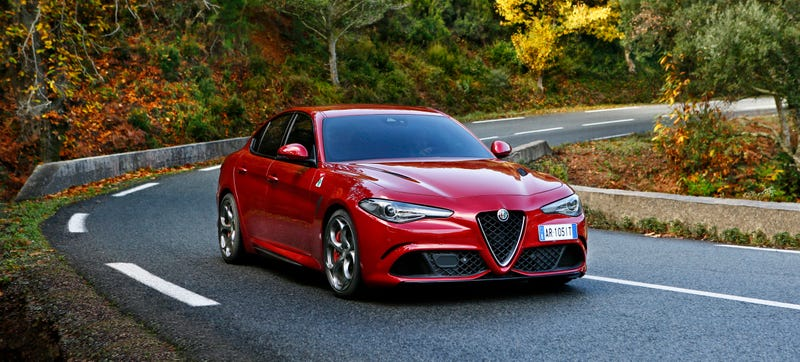 Surprise The Alfa Romeo Giulia Quadrifoglio Is Also Terrible To Lease - Lease alfa romeo