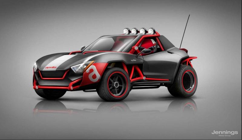 Illustration for article titled if Aprilia made a car......