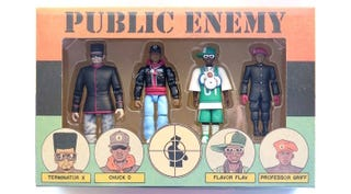 A set of Public Enemy action figuresInstagram